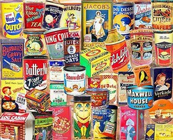 WhiteMount Vintage Tins Collage Puzzle (1000pc)
