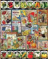 WhiteMount Garden Seeds Collage Puzzle (1000pc)