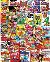 WhiteMount Cereal Boxes Collage Puzzle (1000pc)