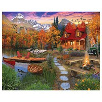 WhiteMount Cozy Cabin 1000pcs