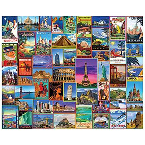 WhiteMount Best Places in the World 1000pcs
