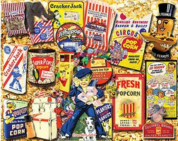 WhiteMount Favorite Snacks Collage Puzzle (1000pc)