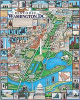 WhiteMount Historic Washington, D.C. Collage Puzzle (1000pc)