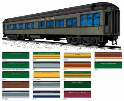 Ho scale pullman cars crossword