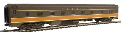 Walthers Pullman Standard 10-5 Sleeper - Assembled -- Illinois Central - HO-Scale