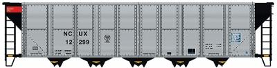 Walthers Gold Line(TM) Trinity RD-4 Coal Hopper 6-Pack - Ready to Run -- NCUX - HO-Scale (6)