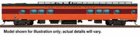 Walthers Milwaukee Road 1955 Twin Cities Hiawatha Streamlined Cars Assembled 26-Seat Tap Lounge #172-173 - HO-Scale