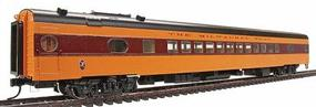 Walthers Milwaukee Road 1955 Twin Cities Hiawatha Streamlined Cars Assembled Coach #535 Series - HO-Scale