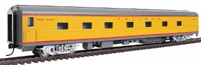 Walthers UP City Streamliner 5-2-2 Sleeper P-S Plan #4200 - Ready to Run -- Union Pacific(R) Ocean Series (Armour Yellow, gray, silver, red) - HO-Scale