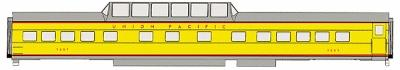 Walthers UP City Streamliner Cars Ready to Run -- Dome-Coach #7000-7009 ACF Lot #4097 Union Pacific(R) - HO-Scale
