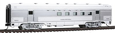 Walthers Santa Fe El Capitan 63 Budd Railway Post Office Car HO Scale Model Train Passenger Car #9730