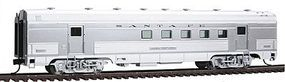 Walthers Santa Fe El Capitan 63' Budd Railway Post Office Car HO Scale Model Train Passenger Car #9730