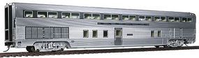 Walthers Santa Fe El Capitan 85 Budd Step-Down Hi-Level Coach HO Scale Model Train Passenger Car #9761