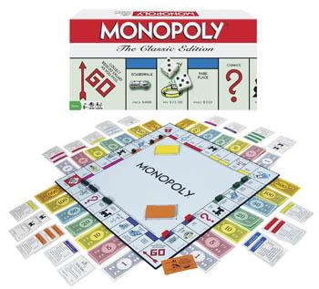 Winning Moves Monopoly Classic Edition -- Trivia Game -- #1126