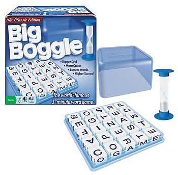 Winning Moves Big Boggle -- Word Game -- #1147