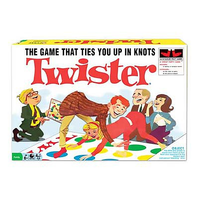 Winning Moves Classic Twister -- Activity Skill Game -- #1178