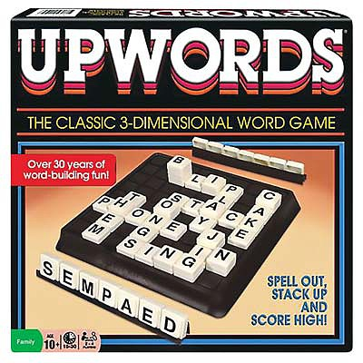 Winning Moves Classic Upwords -- Word Game -- #1194