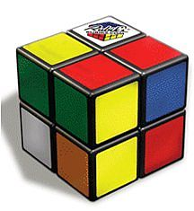 Winning Moves Rubik's 2x2 -- Strategy Game Brainteaser -- #5007