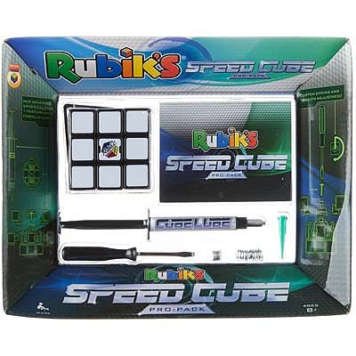 Winning Moves Rubik's Customize Speed Cube Pro-Pack/Accy's -- Trivia Game -- #5029