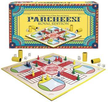 Winning Moves Parcheesi Royal Edition -- Trivia Game -- #6106