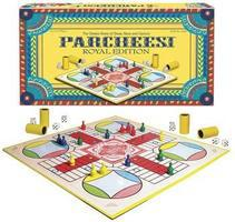 Winning-Moves Parcheesi Royal Edition Trivia Game #6106