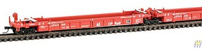 WalthersN 5-Unit Articulated 48' Well Car Canadian Pacific #524328 N-Scale