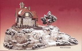 Woodland Collectible House Display Kit Plastic Model Diorama All Scale #1057