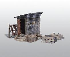 Woodland Scenic Details Smokehouse Kit HO Scale Model Building #213