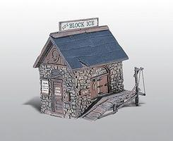 Woodland Scenic Detail Ice House Kit HO Scale Model Railroad Building #219