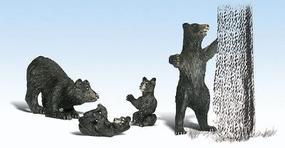 Woodland Scenic Accents Harry Bear & Family G Scale Model Railroad Figures #2551