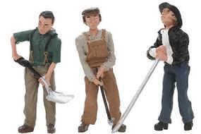 Woodland Scenic Accents Rail Workers G Scale Model Railroad Figures #2562