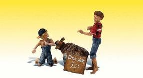 Woodland Scenic Accents You Dirty Dog G Scale Model Railroad Figures #2566