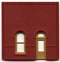 Woodland DPM Street Level Arch Entry (4) HO Scale Model Railroad Building Accessory #30101