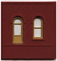 Woodland DPM Dock Level Arched Entry (4) HO Scale Model Railroad Building Accessory #30105