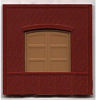 Woodland DPM Dock Level Loading Door (4) HO Scale Model Railroad Building Accessory #30106