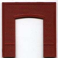 Woodland DPM Street Level Open Arch (4) HO Scale Model Railroad Building Accessory #30107