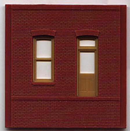 Woodland DPM Dock Level Rectangle Entry (4) HO Scale Model Railroad Building Accessory #30136