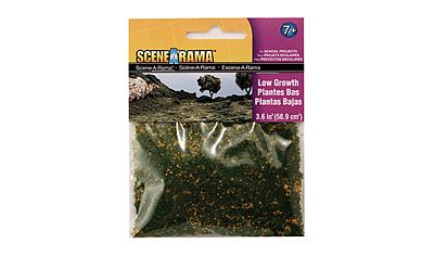 Woodland Low Growth Scene-A-Rama (2oz 57g) Model Railroad Grass Earth #4183