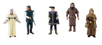 Scene Setters Figurines-Revolutionary War Soldiers 5//Pkg R