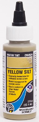 Woodland Water Tint Water System Yellow Silt Model Railroad Mold Accessory #4524