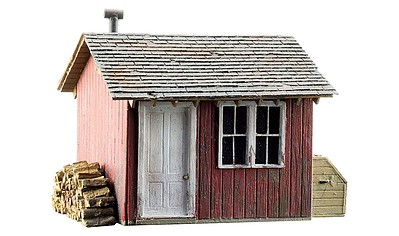 Woodland Work Shed Built-&-Ready(R) N Scale Model Railroad Building #4947