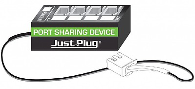 Woodland Just Plug- Port Sharing Device