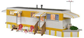 Woodland Sunny Days Trailer w/Lights - Built-&-Ready(R) Landmark Structure(R) Assembled - O-Scale