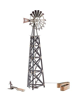 Woodland Windmill, Old Built-&-Ready(R) O Scale Model Railroad Building #5867