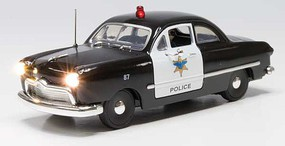 Woodland Just Plug Police Car - O-Scale