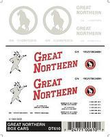 Woodland Great Northern Modern Rocky Logos Dry Transfer Model Railroad Lettering Sets #610