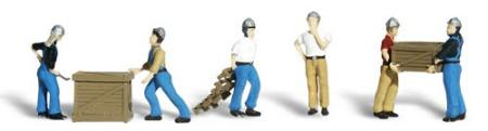 HO Scale 8 Pkg Woodland Scenics Accents A1826 Figures City Workers