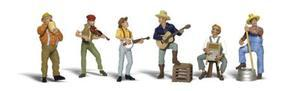 Woodland Jug Band HO Scale Model Railroad Figure #a1902