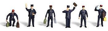 Woodland Train Personnel N Scale Model Railroad Figure #a2131