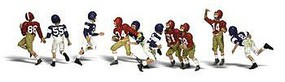 Woodland Scenic Accents Youth Football Players (10) N Scale Model Railroad Figure #a2169